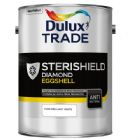 Dulux Trade Sterishield Quick Dry Eggshell Pure Brilliant White 5 Litres